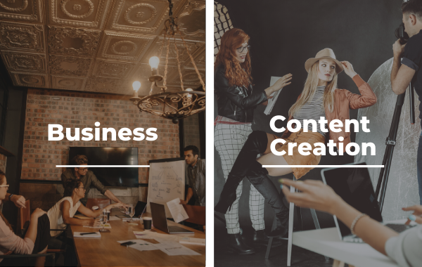 Business and Content Creation